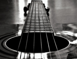 Monochrome Guitar