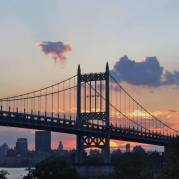 RFK Triboro Bridge At Sunset