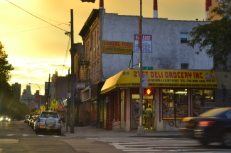 21st Street, Queens In The Summer Sun