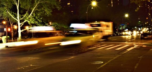 Taxi Light Streak